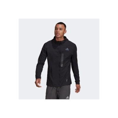 アディダス adidas マラソン トランスルーセント ジャケット / Marathon Translucent Jacket (ブラック)