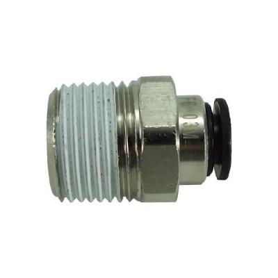 チヨダ ファイブメイルコネクタ 6mm・R3/8 F6-03M 流体継手・チューブ・チューブ継手