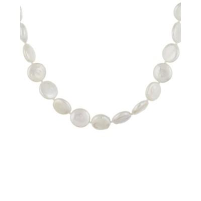 スプレンデッドパールズ ネックレス・チョーカー・ペンダントトップ アクセサリー レディース Splendid Pearls Rhodium Plated 12-13mm Pearl Necklace -