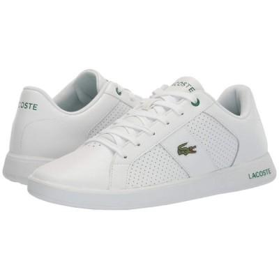 ラコステ Lacoste メンズ スニーカー シューズ・靴 Novas 120 1 P White/Green