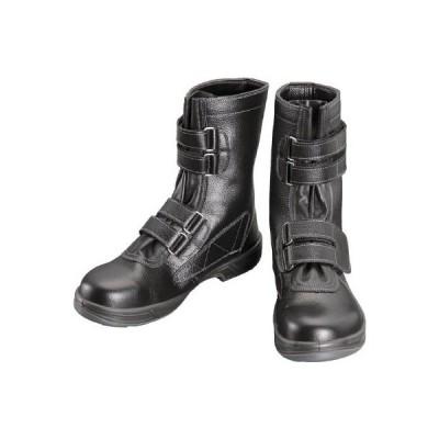 シモン 安全靴 長編上靴マジック式 SS38黒 29.0cm