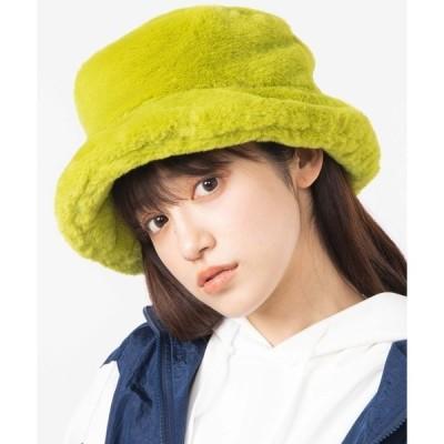 帽子 ハット WEGO/ファーバケットハット