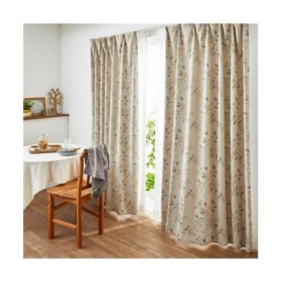 ヒダがキレイな1級遮光カーテン(リーフ) ドレープカーテン(遮光あり・なし) Curtains, blackout curtains, thermal curtains, Drape(ニッセン、nissen)