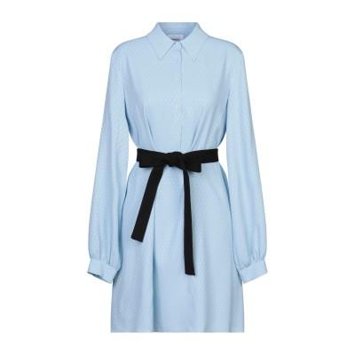 ドンダップ DONDUP ミニワンピース&ドレス スカイブルー 38 アセテート 69% / シルク 31% ミニワンピース&ドレス
