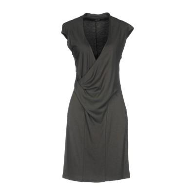 リュー ジョー LIU •JO ミニワンピース&ドレス 鉛色 48 レーヨン 70% / バージンウール 30% ミニワンピース&ドレス