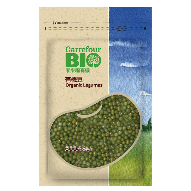 家樂福有機綠豆