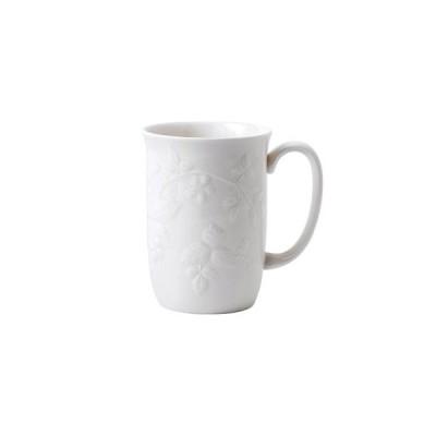 ウェッジウッド ワイルドストロベリー ホワイト マグカップ / おしゃれ ブランド