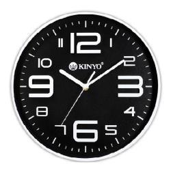 KINYO 369時尚靜音掛鐘CL-122