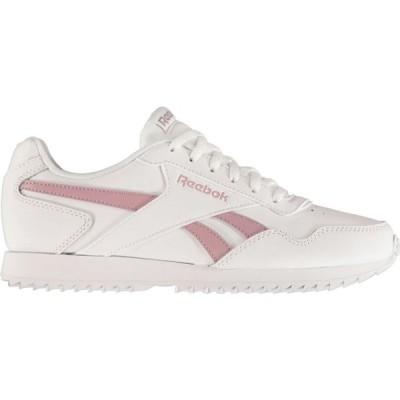 リーボック Reebok レディース スニーカー シューズ・靴 Royal Glide Ripple Clip Trainers White/Lilac