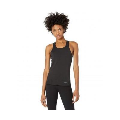 Brooks ブルックス レディース 女性用 ファッション アクティブシャツ Pick-Up Tank - Black