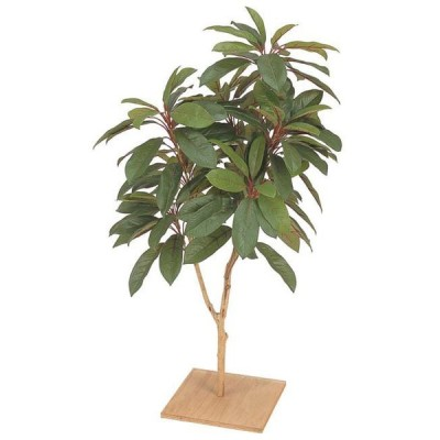 人工植物 和風 ユズリハ 板付 90cm  GD-11S(21610900)(タカショー)