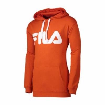 fila フィラ ファッション 男性用ウェア パーカー fila classic-logo-hood-kangaroo