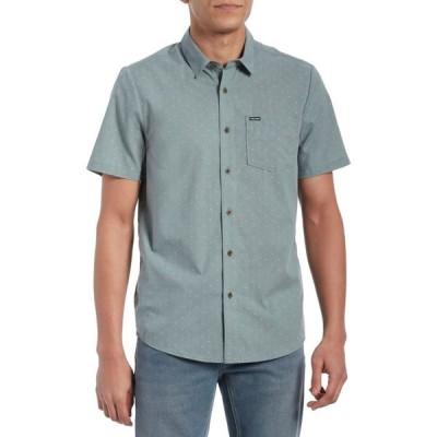 ボルコム Volcom メンズ 半袖シャツ トップス stallcup short-sleeve shirt Cool Blue