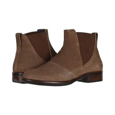 Naot ナオト レディース 女性用 シューズ 靴 ブーツ チェルシーブーツ アンクル Ruzgar - Antique Brown Suede