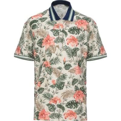 ブルックスフィールド BROOKSFIELD メンズ ポロシャツ トップス polo shirt Beige