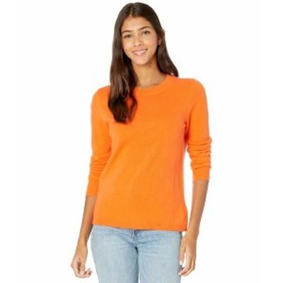 ジェイクルー レディース ニット&セーター アウター Cashmere Crew Neck Sweater Bright Persimmon