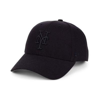 47ブランド メンズ 帽子 アクセサリー New York Mets Black Series MVP Cap