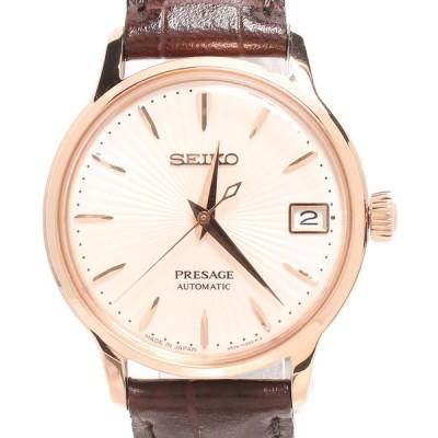 セイコー 腕時計 SRRY028 プレサージュ ベーシックライン 自動巻き レディース  SEIKO 中古