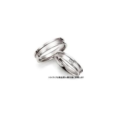 SolidソリッドSL108写真左Pt900プラチナリング結婚指輪マリッジ