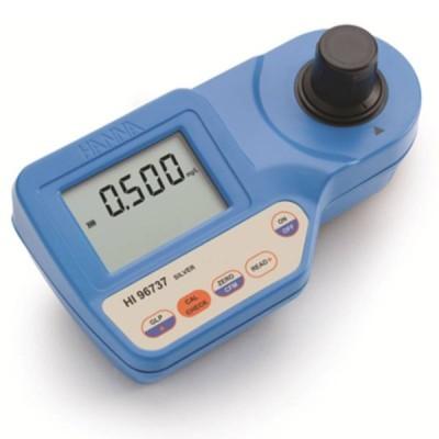 ポータブル 銀測定器 HI 96737 0.000〜1.000mg/L Ag 水中 測定 計測 吸光光度計 イオン計 ハンナ カ施 代引不可