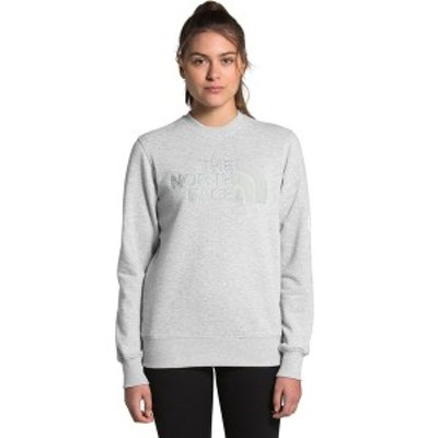 ノースフェイス レディース パーカー・スウェットシャツ アウター Neo Dome Crew Sweatshirt - Women's TNF Light Grey Heather/High Ris