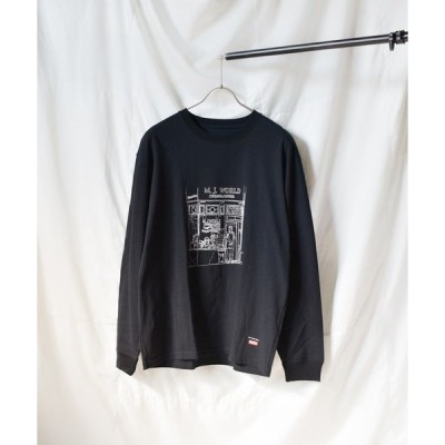 tシャツ Tシャツ 《Naked Rust and other POEMS》手書きプリント 長袖カットソー