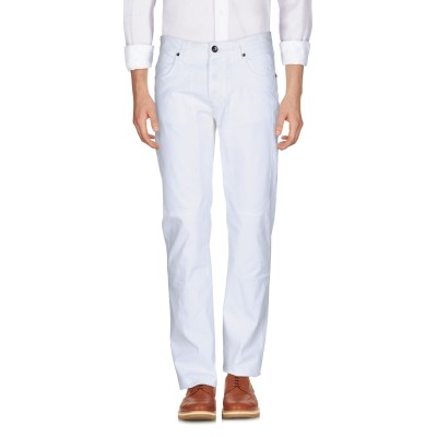 ジェッカーソン JECKERSON パンツ ホワイト 32 コットン 97% / ポリウレタン 3% パンツ