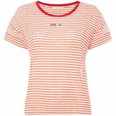 ペペジーンズ Pepe Jeans レディース Tシャツ トップス Sasha T Shirts Red