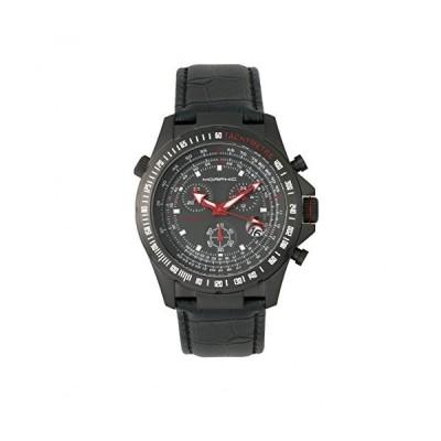Morphic Men's MPH3605 M36 Series Chronograph Black Leather Watch並行輸入品