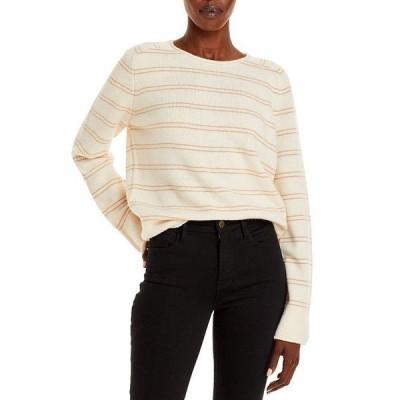 ヴィンス レディース ニット・セーター アウター Railroad Striped Sweater