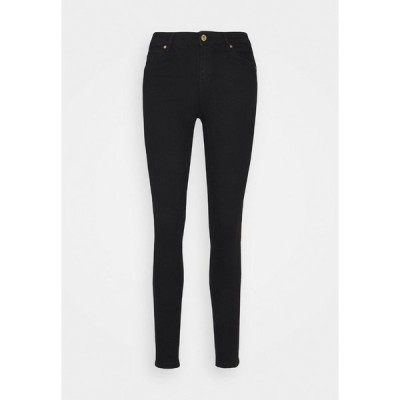 オンリー トール デニムパンツ レディース ボトムス ONLANTA LIFE PUSHUP - Jeans Skinny Fit - black