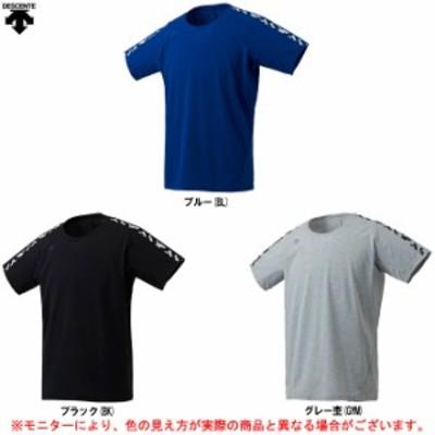 DESCENTE(デサント)半袖Tシャツ(DMMOJA65Z)スポーツ トレーニング フィットネス ジムウェア ランニング 吸汗速乾 男性用 メンズ