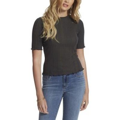 ジェシカシンプソン レディース Tシャツ トップス Declyn Bodycon T-Shirt Mood Indigo