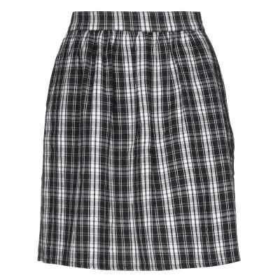 COMPAÑIA FANTASTICA ミニスカート ブラック L コットン 100% ミニスカート