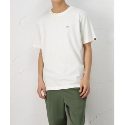 tシャツ Tシャツ バックリフレクタープリント 半袖Tシャツ