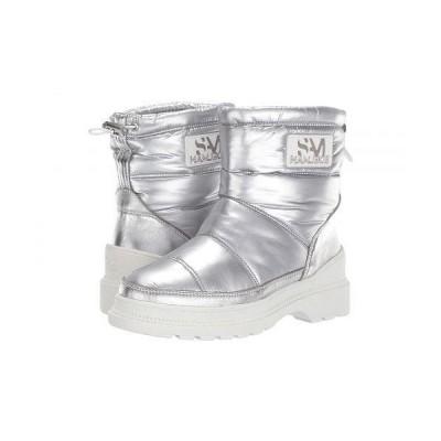 Sam Edelman サムエデルマン レディース 女性用 シューズ 靴 ブーツ スノーブーツ Carlton - Soft Silver WP Metallic Nylon