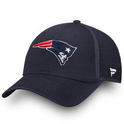 ユニセックス スポーツリーグ フットボール New England Patriots NFL Pro Line by Fanatics Branded Elevated Core Trucker Adjustable Sn