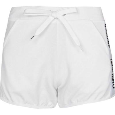 モスキーノ MOSCHINO レディース ショートパンツ ボトムス・パンツ Tape Shorts White