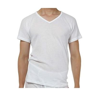 [新商品]ひだまり本舗[紳士用]ひだまり ドライ 半袖シャツ (M, ホワイト)[XC-101-WH]