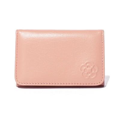 【クレイサス(バッグ)】 ワッフル 名刺入れ レディース ピンク F CLATHAS