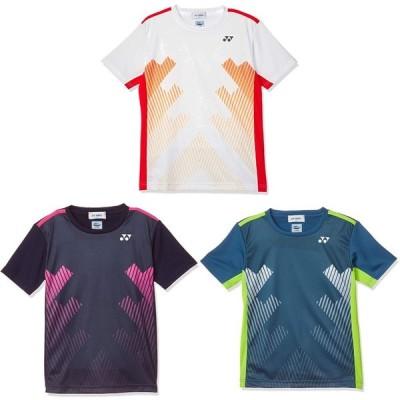 「365日出荷」ポスト投函便「送料無料」ヨネックス YONEX テニスウェア ジュニア ゲームシャツ 10320J 19FW  夏用 冷感