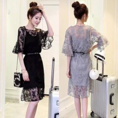 韓国 パーティードレス オルチャン ドレス 結婚式 お呼ばれ ドレス フォーマル ドレス パーティー ドレス 20代 30代 40代 ワンピース レ