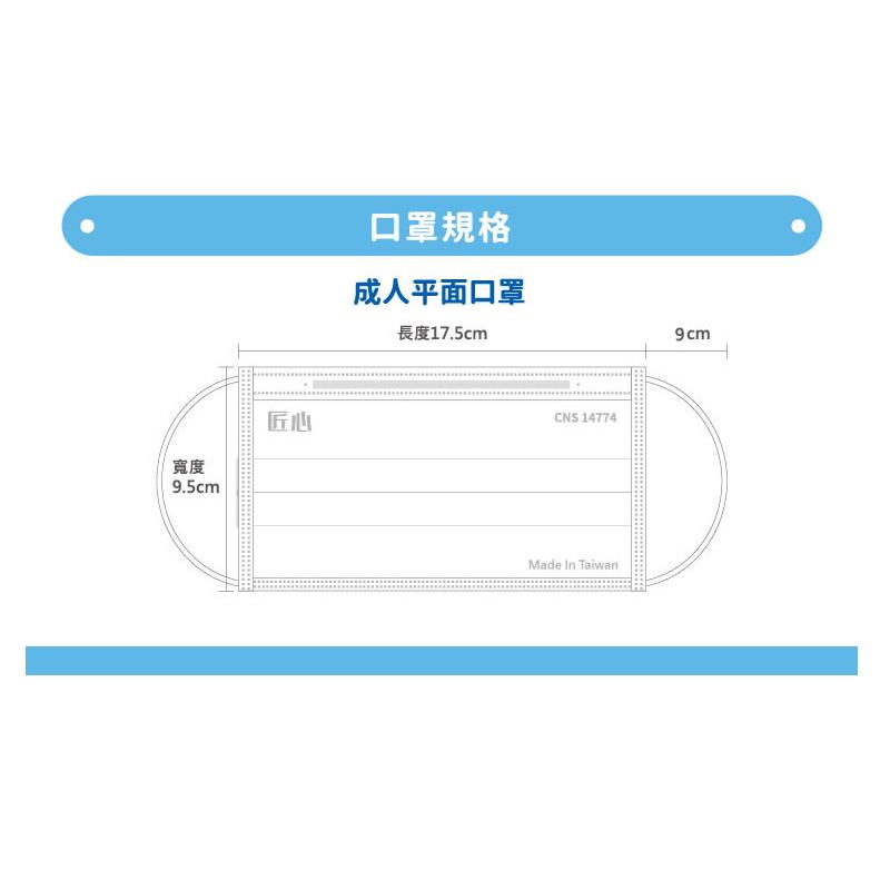 台灣康匠醫療口罩50入