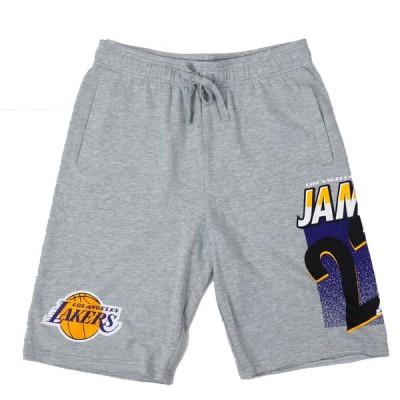 NBA レブロン・ジェームズ ロサンゼルス・レイカーズ ショートパンツ/ショーツ N&N Pockets Shorts UNK グレー