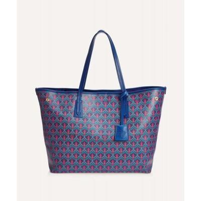 リバティ Liberty レディース トートバッグ キャンバストート バッグ marlborough iphis canvas tote bag Blue