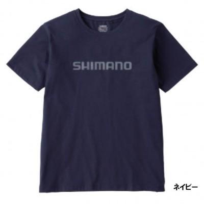 シマノ スタンダードTシャツ(半袖) L ネイビー SH-096U
