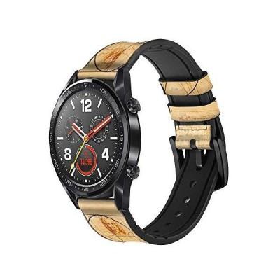 Golden Ratio 黄金比 レザーシリコンWristwatchバンド 腕時計 バンド ストラップ幅 22mm_並行輸入品