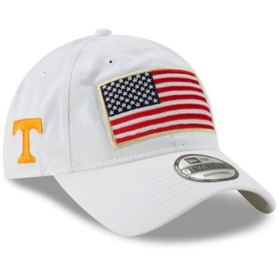 ユニセックス スポーツリーグ アメリカ大学スポーツ Tennessee Volunteers New Era Country First 9TWENTY Adjustable Hat - White - O