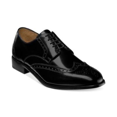 フローシャイム Florsheim メンズ 革靴・ビジネスシューズ シューズ・靴 Brookside Wing-Tip Oxfords Black