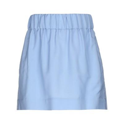 ヌメロ ヴェントゥーノ N°21 ミニスカート スカイブルー 40 モヘヤ 60% / バージンウール 40% ミニスカート